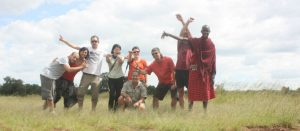 Having fun in Kenya and Tanzania