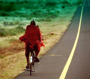 Masai biking