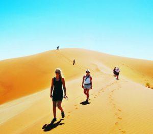 Exploring Sossusvlei dunes