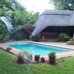 Green FIre Lodge Victoria Falls pool